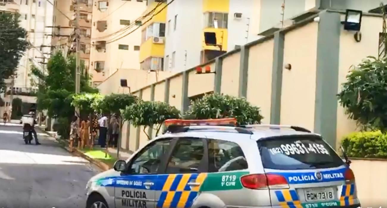 Criança cai do 10º de prédio em Goiânia | Foto: Bill Guerra