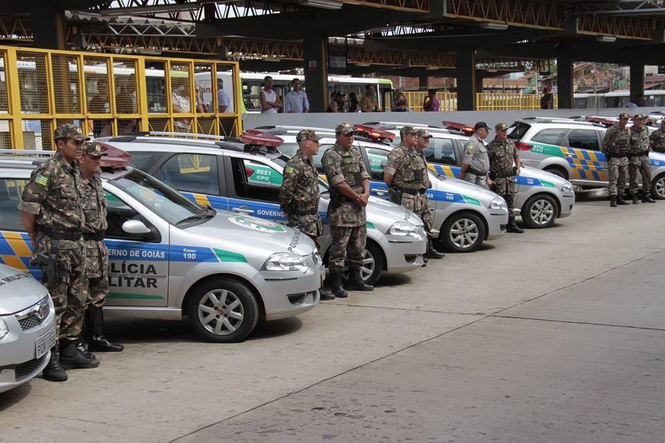 PM lança operação para dar mais segurança nos ônibus de Goiânia | Foto: Cabo Luíza