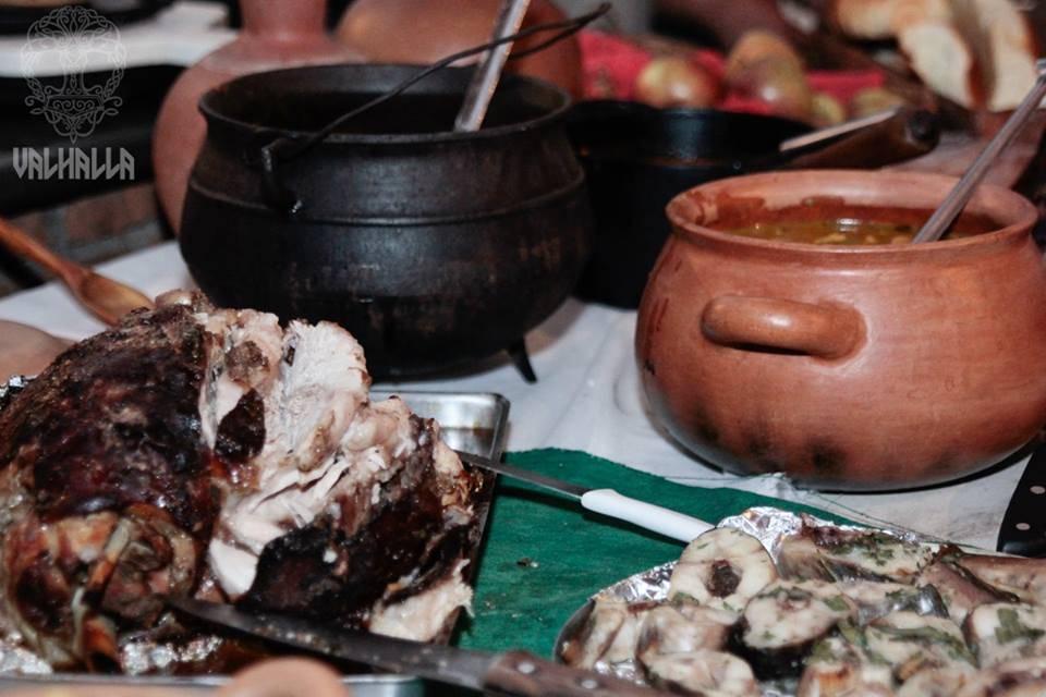 Banquete do 1º Encontro Valhalla   Foto Divulgação