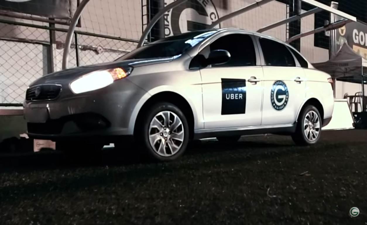 Esmeraldino que for de Uber ao Serra Dourada pagará meia-entrada | Foto: Divulgação