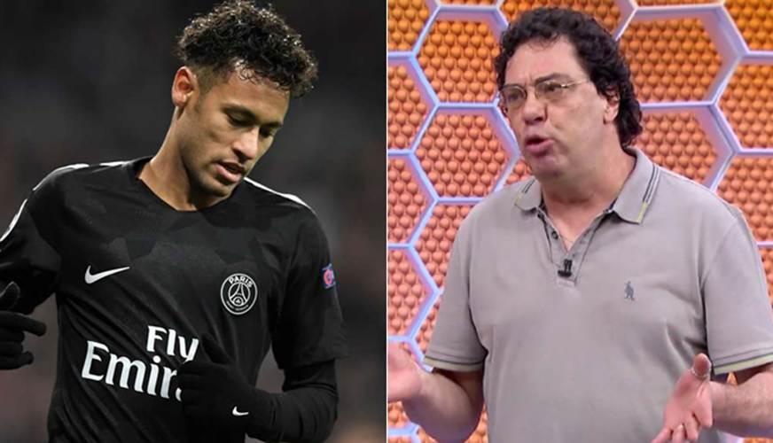 Briga entre Casagrande e Neymar deixa Globo em situação ruim | Foto: Reprodução