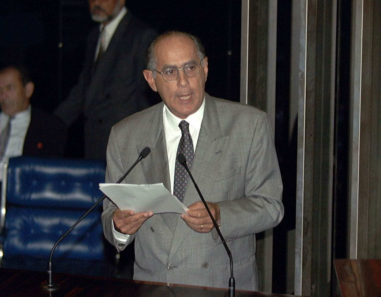 Senador Mauro Miranda   Foto: Reprodução