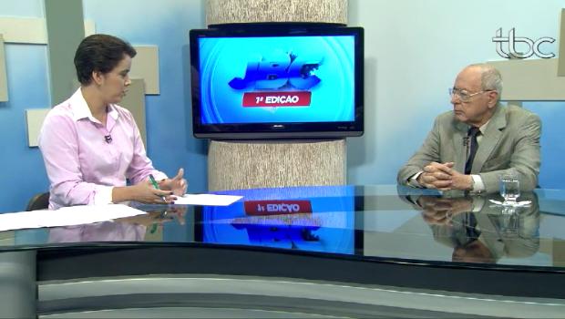 Novo secretário de Segurança Pública de Goiás, Irapuan Costa Júnior comentou sobre porte de armas e outros assuntos importantes à nova TBC | Foto: Divulgação / TBC