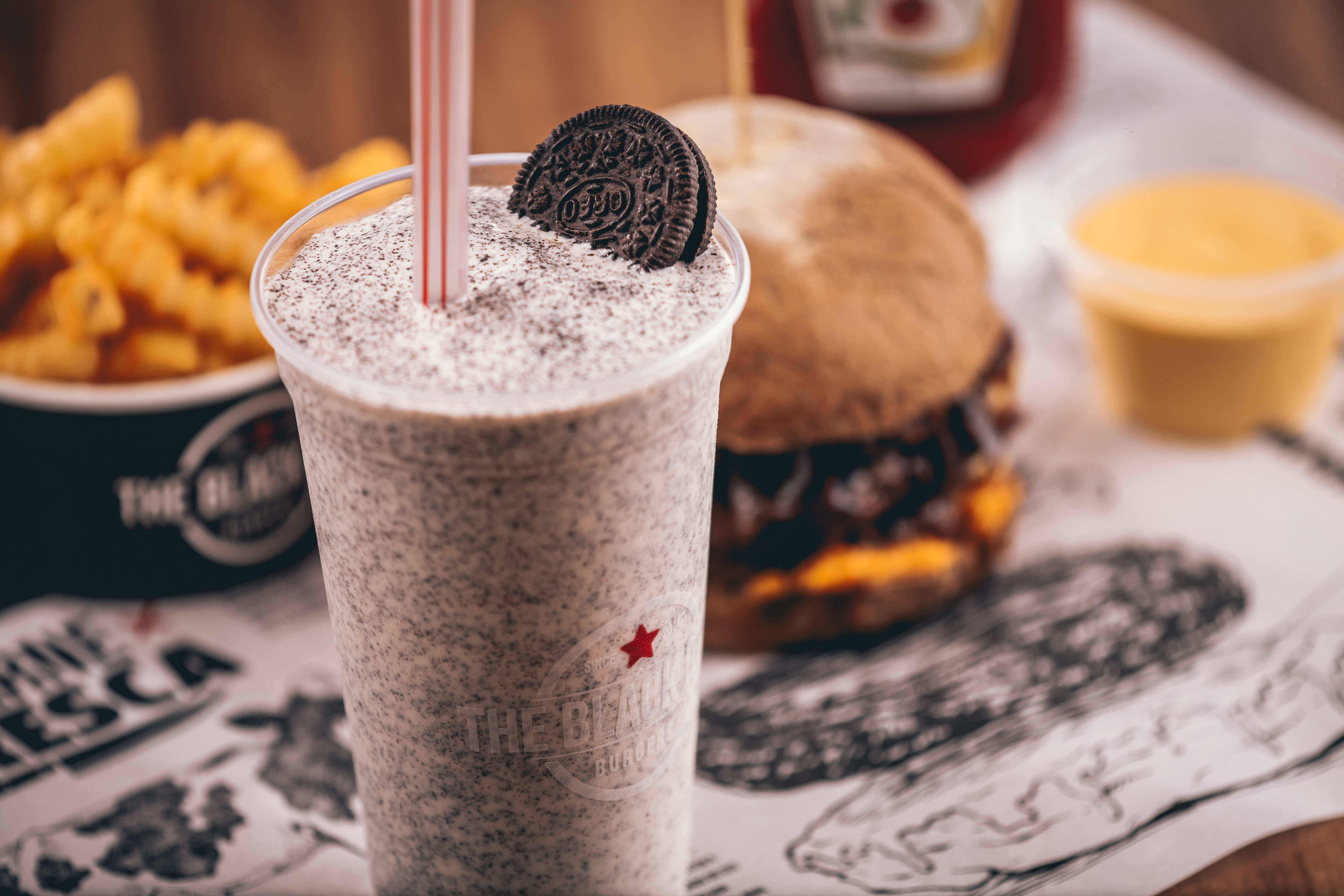 The Black Beef traz milkshakes artesanais e menu canino a Goiânia | Foto: Rui Nagae