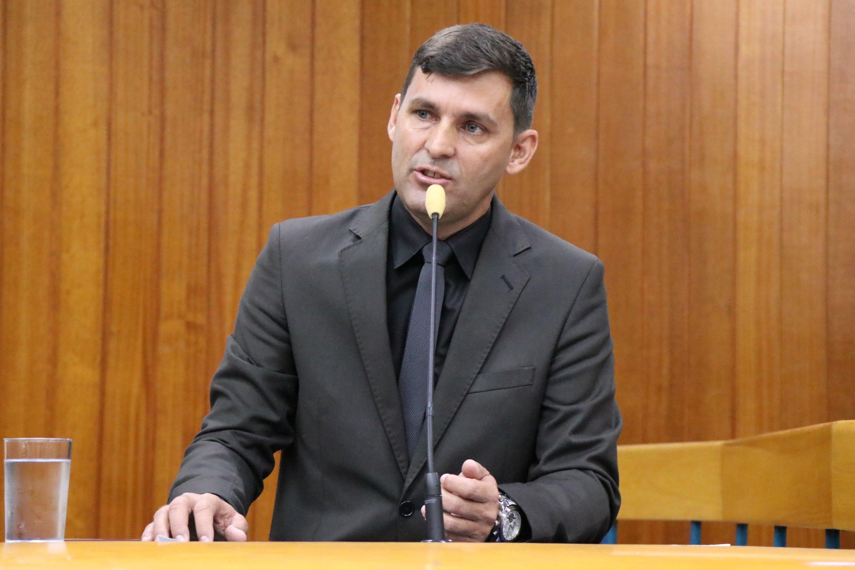 Vereador Sargento Novandir (PTN)   Foto: Câmara de Goiânia