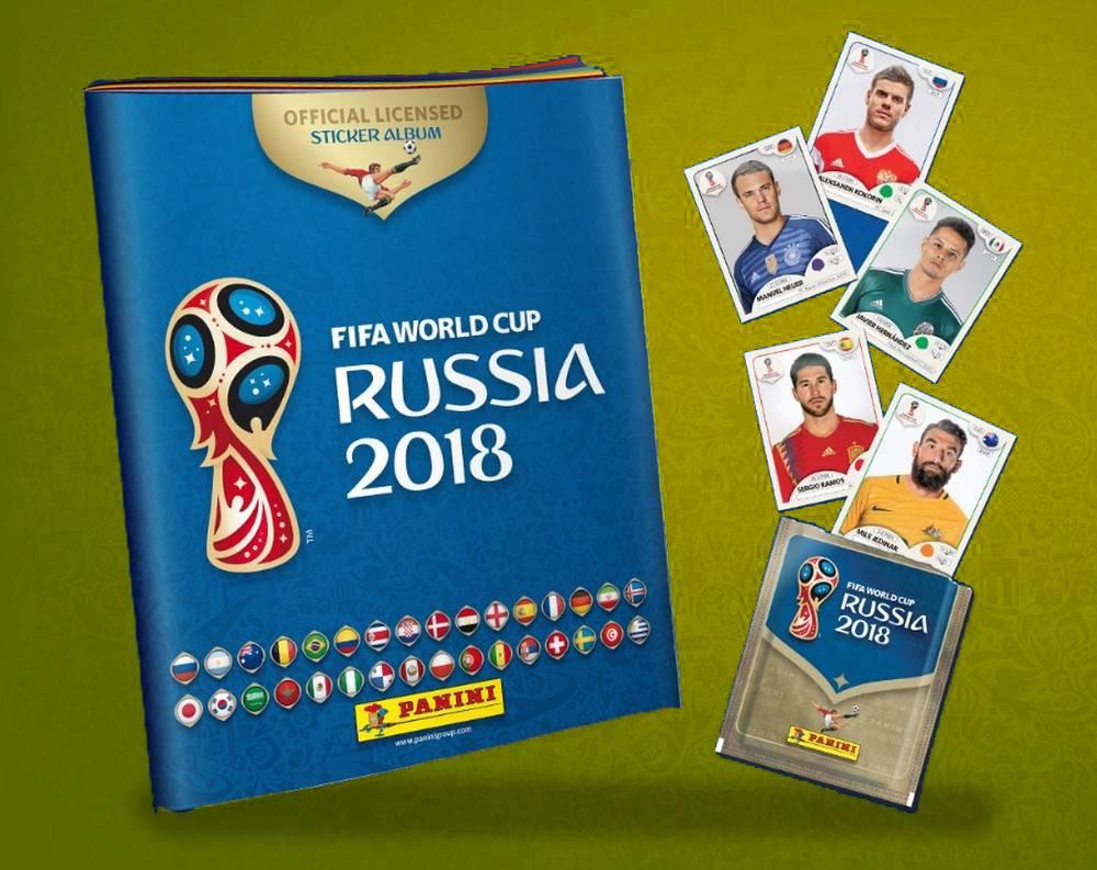Figurinhas Copa do Mundo 2018 já estão disponíveis para colecionadores | Foto: Divulgação/ Panini