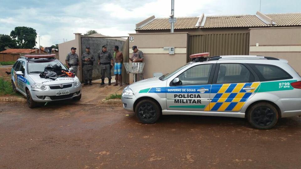 Roubos de carros em Bela Vista de Goiás assustam moradores | Foto: Divulgação/ PM