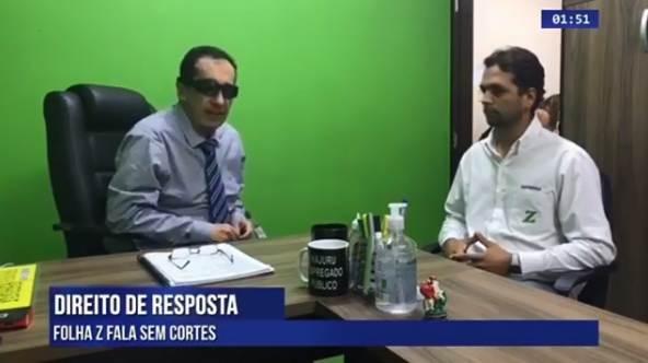 Ex-radialista e Jorge Kajuru (PRP) pediu desculpas ao Folha Z após polêmica   Foto: Reprodução/ Facebook