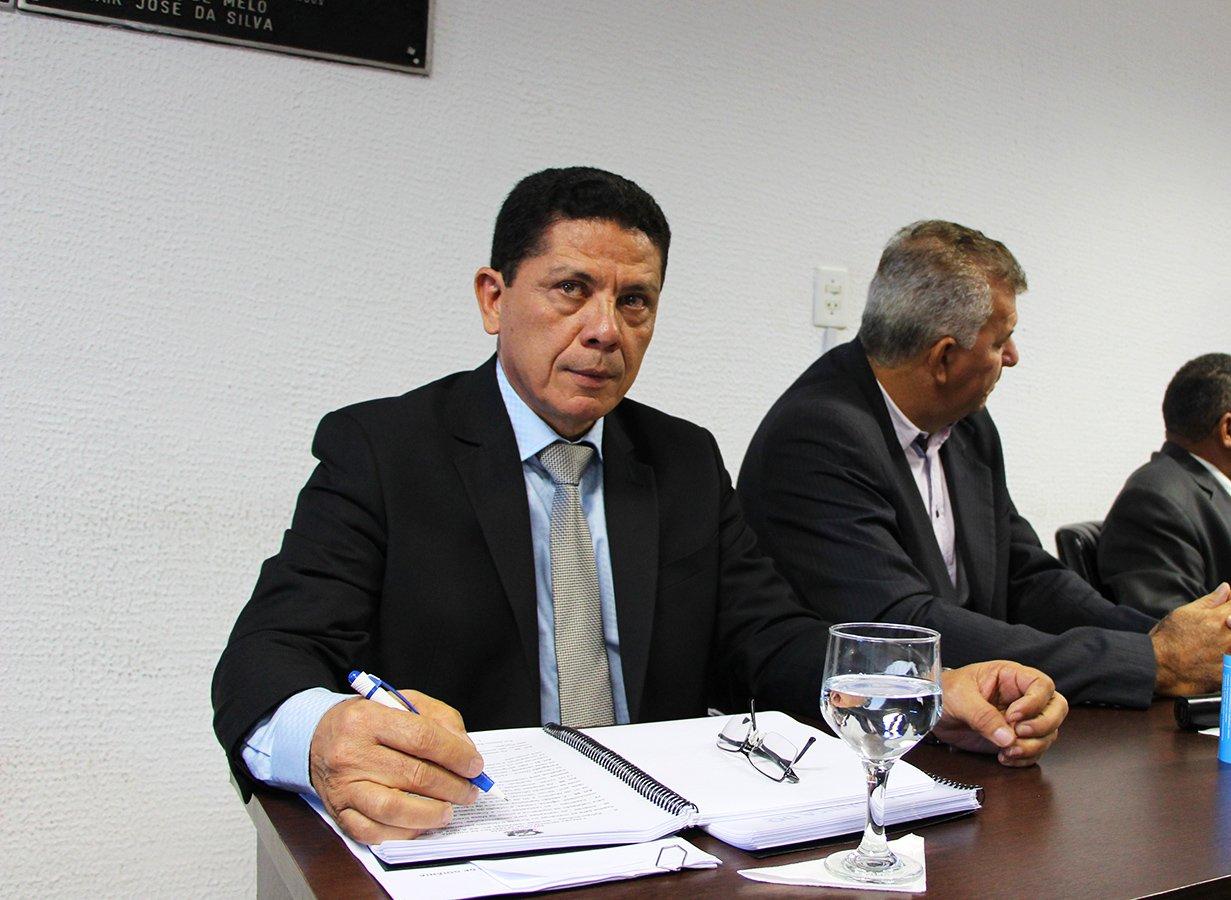 Vereador Manoel Nascimento (DEM) | Foto: Câmara de Aparecida