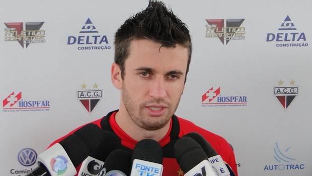 Elias em sua passagem pelo Atlético-GO | Foto: Kaiê Oliveira