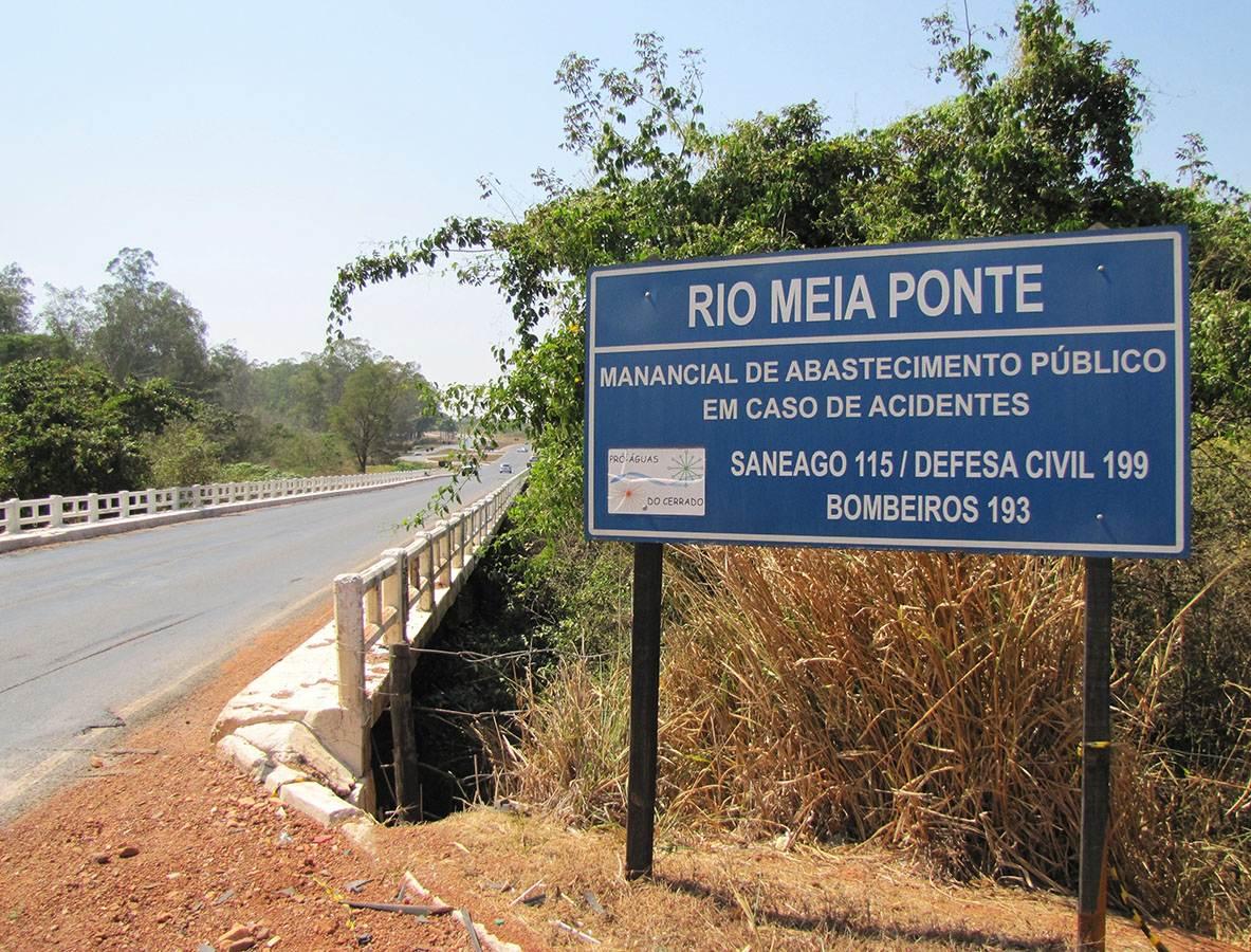 Redução de chuva causa emergência nos rios Meia Ponte e João Leite | Foto: Governo de Goiás
