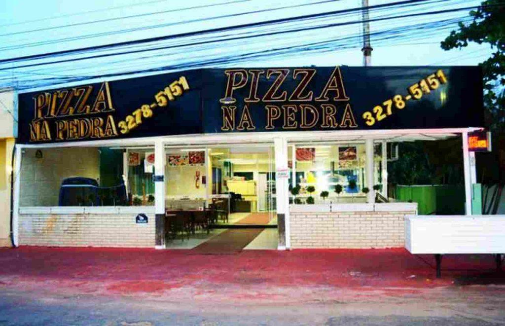 Pizza na pedra / Melhores Pizzarias de Goiânia | Foto: Reprodução