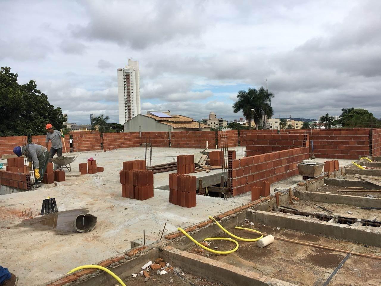 Obra da UPA Jardim América está em execução | Foto: Divulgação/ Prefeitura