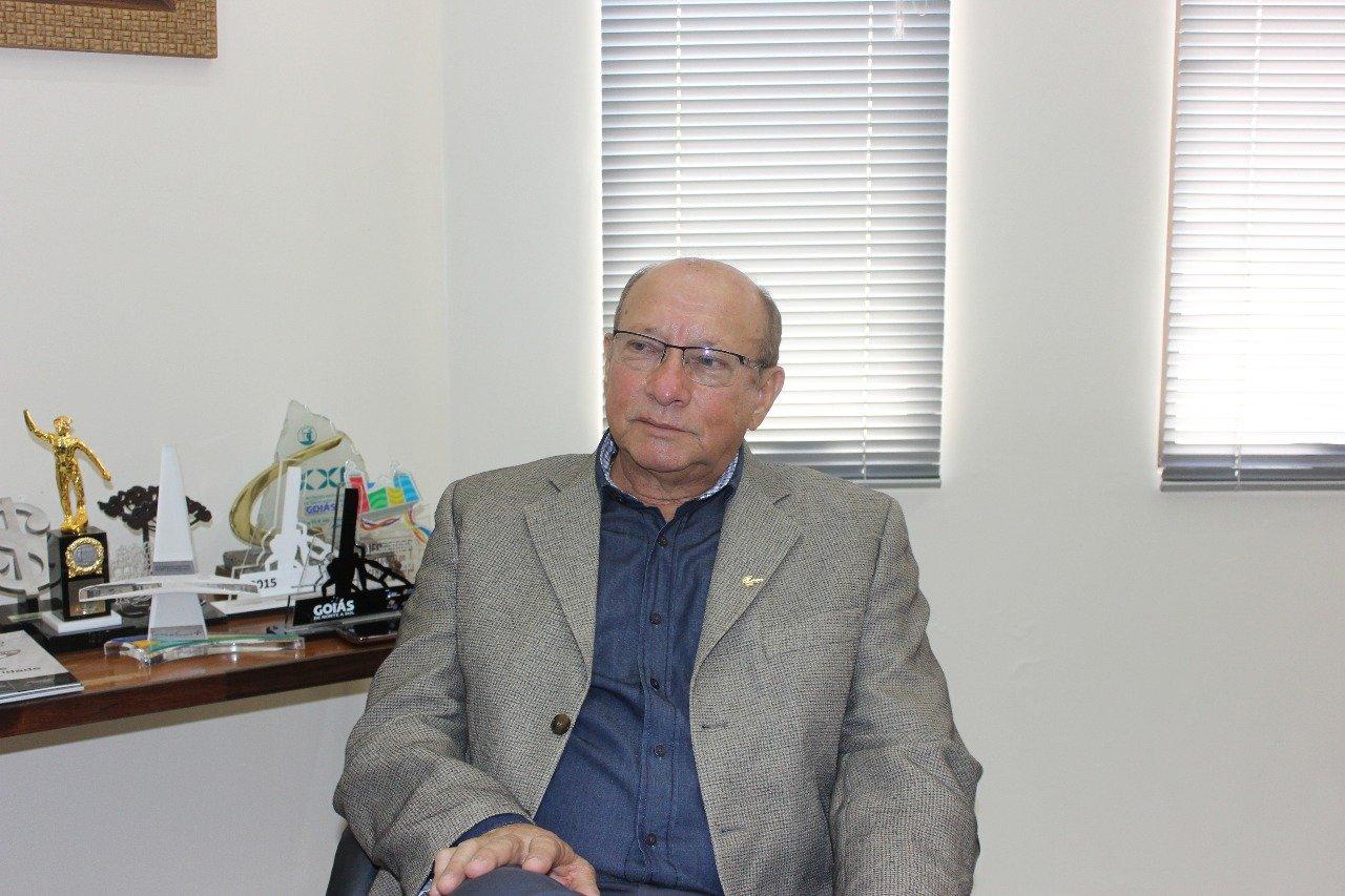 Presidente do Sindilojas-GO Eduardo Gomes | Foto: Valdemy Teixeira