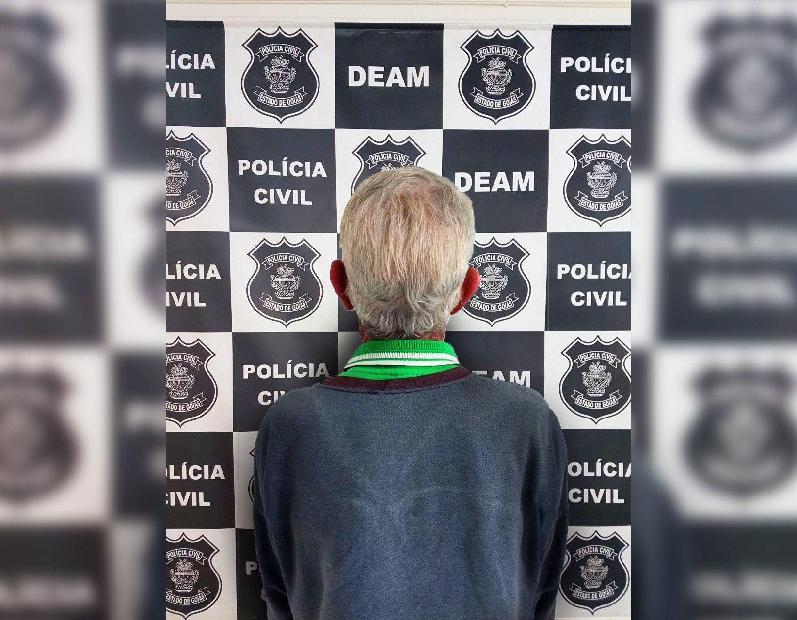 Suspeito de pedofilia, Idoso é preso por estupro de criança em Valparaíso | Foto: Divulgação/ Polícia Civil