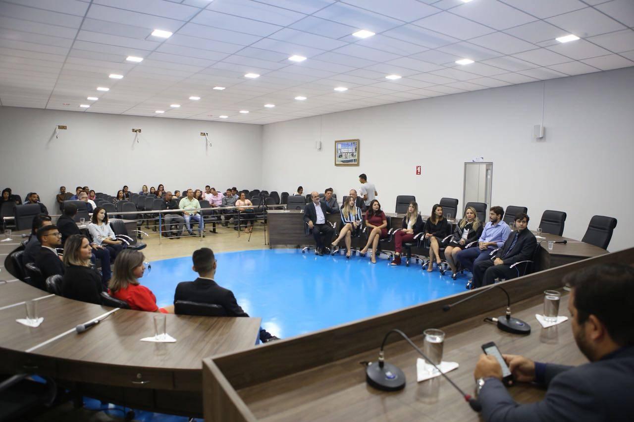 Em homenagem a jornalistas, Câmara de Aparecida escolhe funcionários da prefeitura | Foto: Marcelo Silva