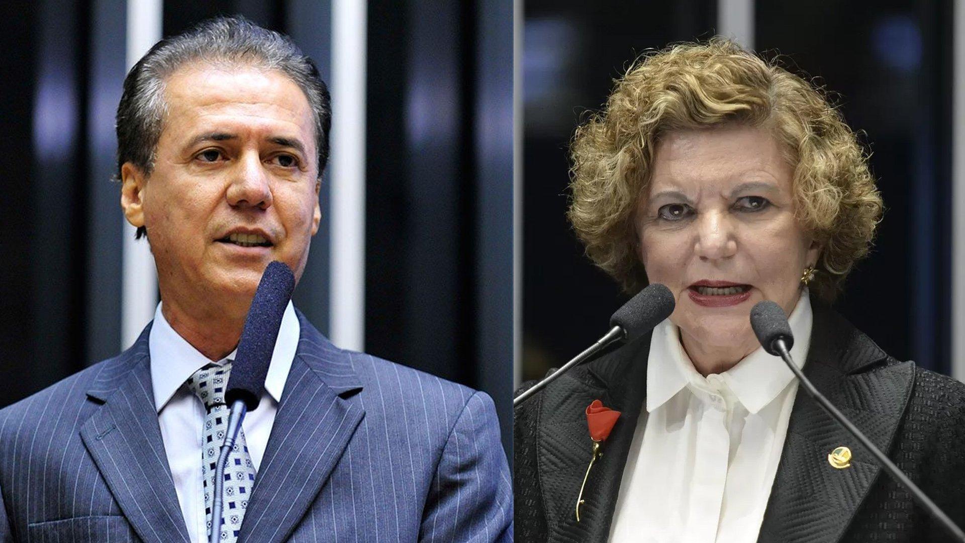 Pedro Chaves e Lúcia Vânia são pré-candidatos ao Senado | Foto: Reprodução