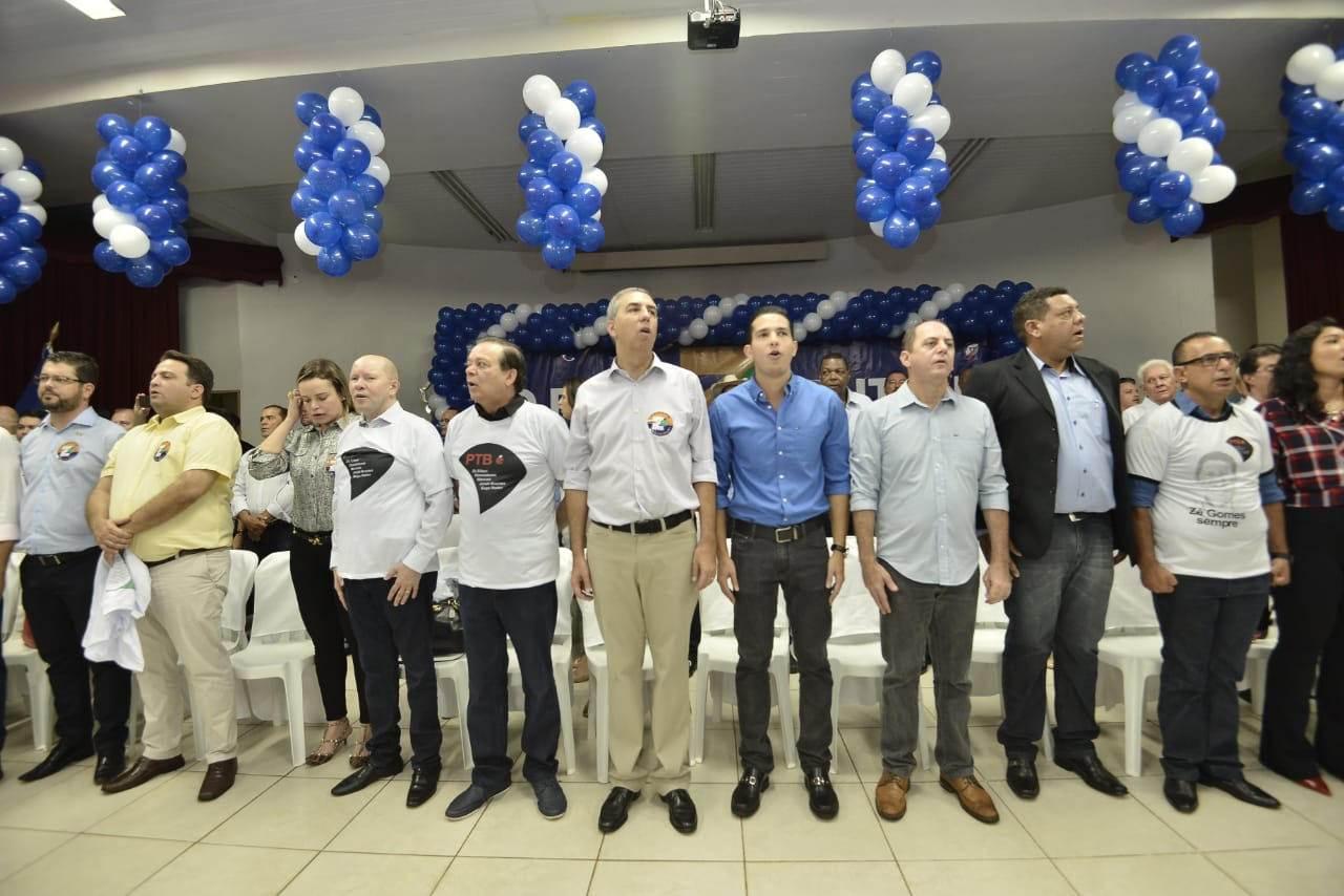 PTB em peso participou do evento em Itumbiara | Foto: Ruber Couto