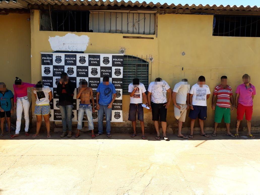 Operação Famiglia foi desencadeada nesta quinta-feira, 26, em Iporá | Foto: Divulgação/ PC