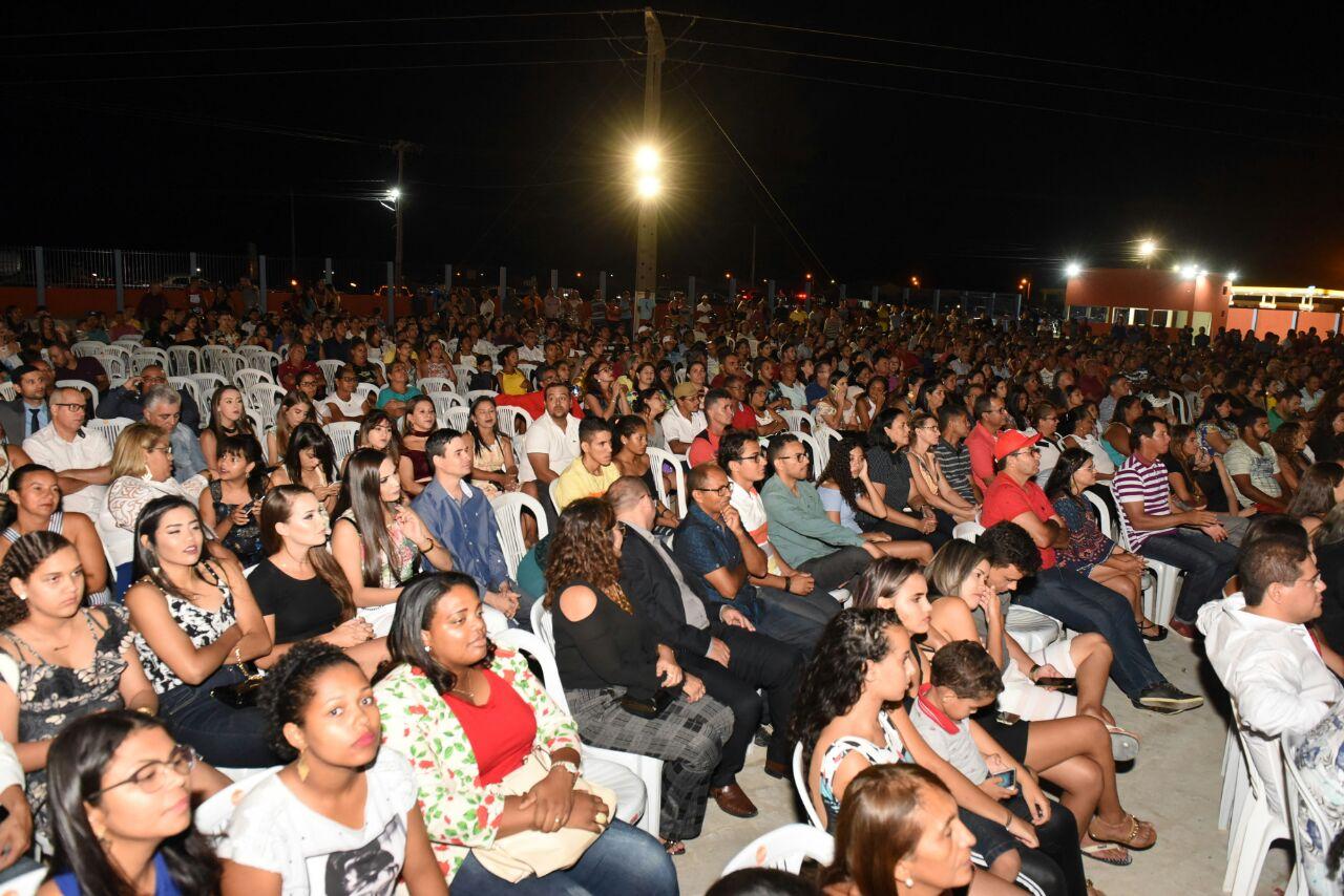 Público lotou evento de inauguração em Casa Nova (BA) | Foto: Divulgação