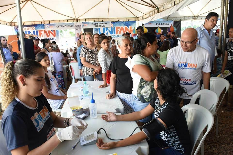 Vila Redenção recebe serviços no evento Unifan na sua Comunidade   Foto: Divulgação/ Unifan
