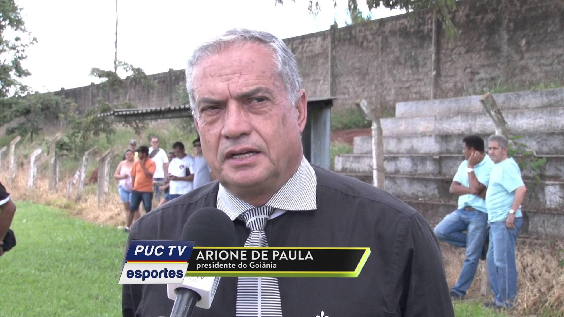 Presidente doGoiânia Arione José di Paula | Foto: Reprodução/PUC TV