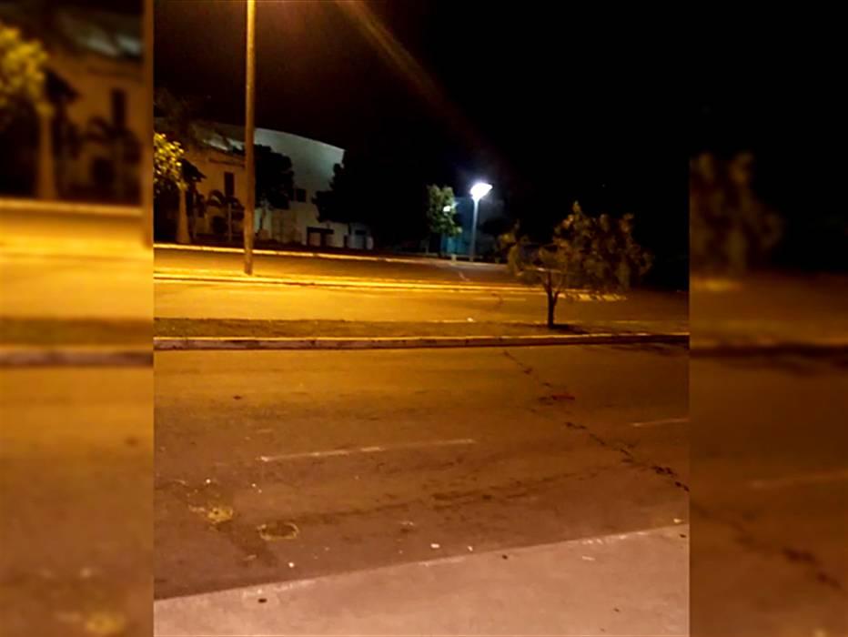 Homem quebra porta de vidro de igreja, fica ferido e morre em Senador Canedo | Foto: Reprodução