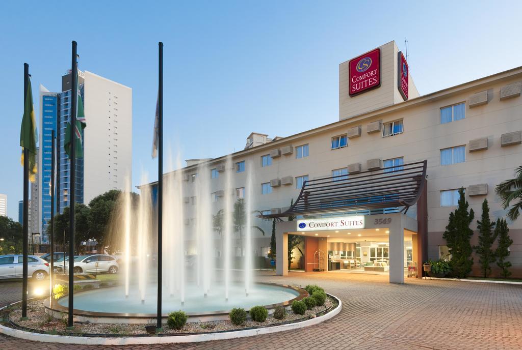 Opção de hotel para o Dia dos Namorados é o Comfort Suítes Flamboyant | Foto: