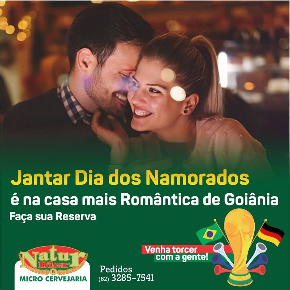 Cervejaria alemã, Natur Bier dará desconto em todo o cardápio a la carte no Dia dos Namorados em Goiânia | Foto: Divulgação