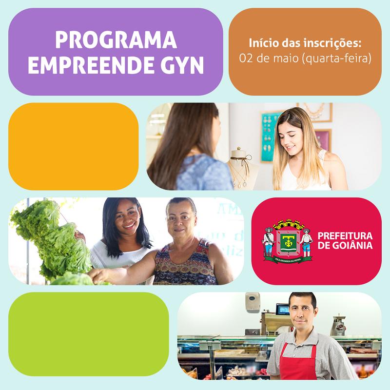 Programa Empreende Gyn foi lançado na última segunda-feira, 14, pela Secretaria Municipal de Desenvolvimento Econômico, Trabalho, Ciência e Tecnologia (Sedetec)   Foto: Divulgação