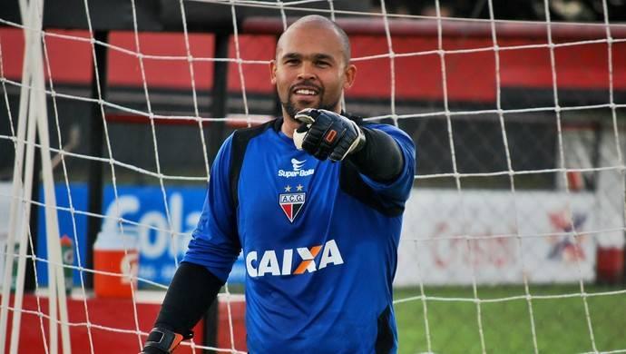 Goleiro Márcio é anunciado pelo Goiânia para 2018 | Foto: Guilherme Salgado/Atlético-GO