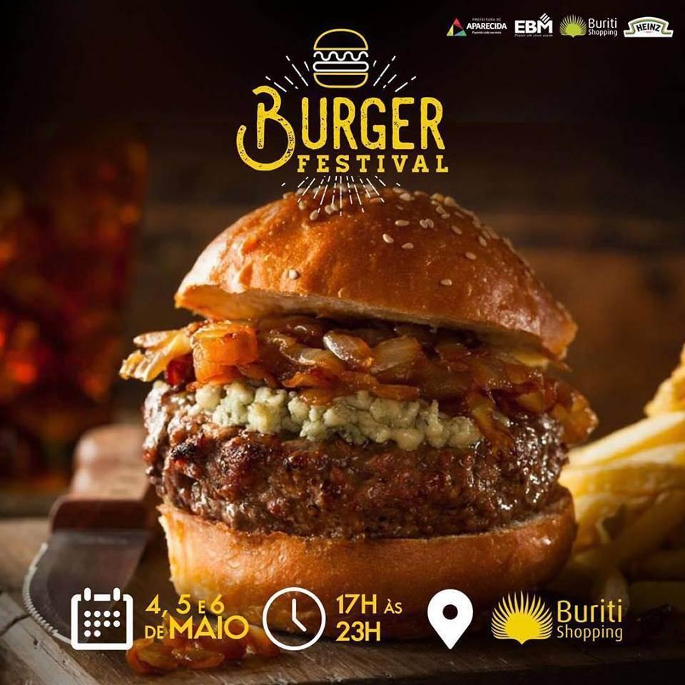 O festival de hambúrguer acontece nos dias 4, 5 e 6 de maio, no Buriti Shopping | Foto: Divulgação