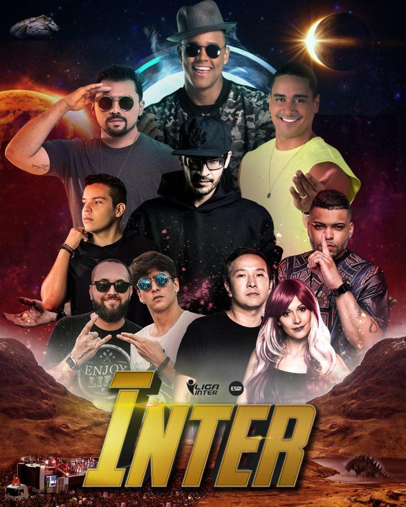Poster de divulgação do Inter 2018 | Arte: Reprodução