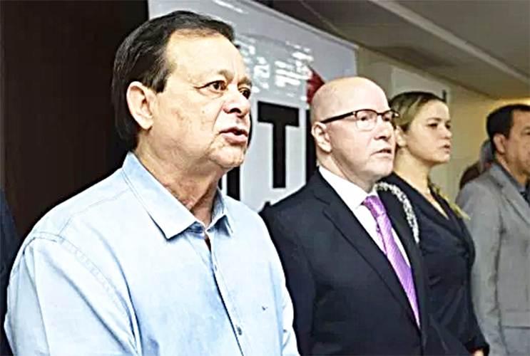 Deputado federal Jovair Arantes e o ex-senador e ex-procurador Demóstenes Torres estarão presentes | Foto: Reprodução
