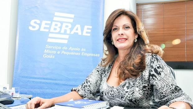 Diretora de administração e finanças do Sebrae Goiás Luciana Albernaz   Foto: Divulgação