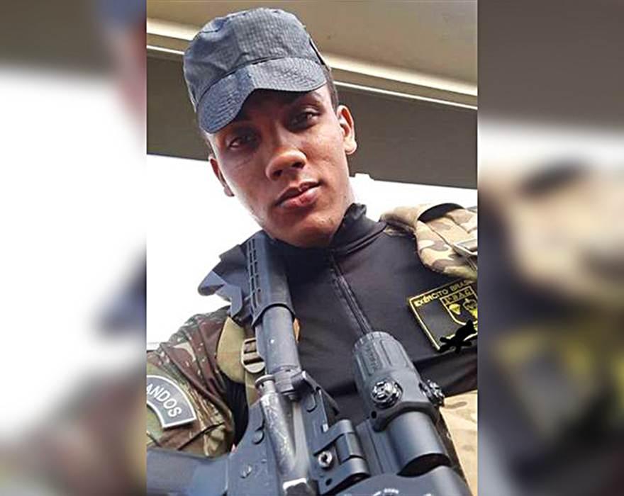 Victor Ferreira Campos morreu após disparo acidental em treino de tiro do Exército | Foto: Reprodução