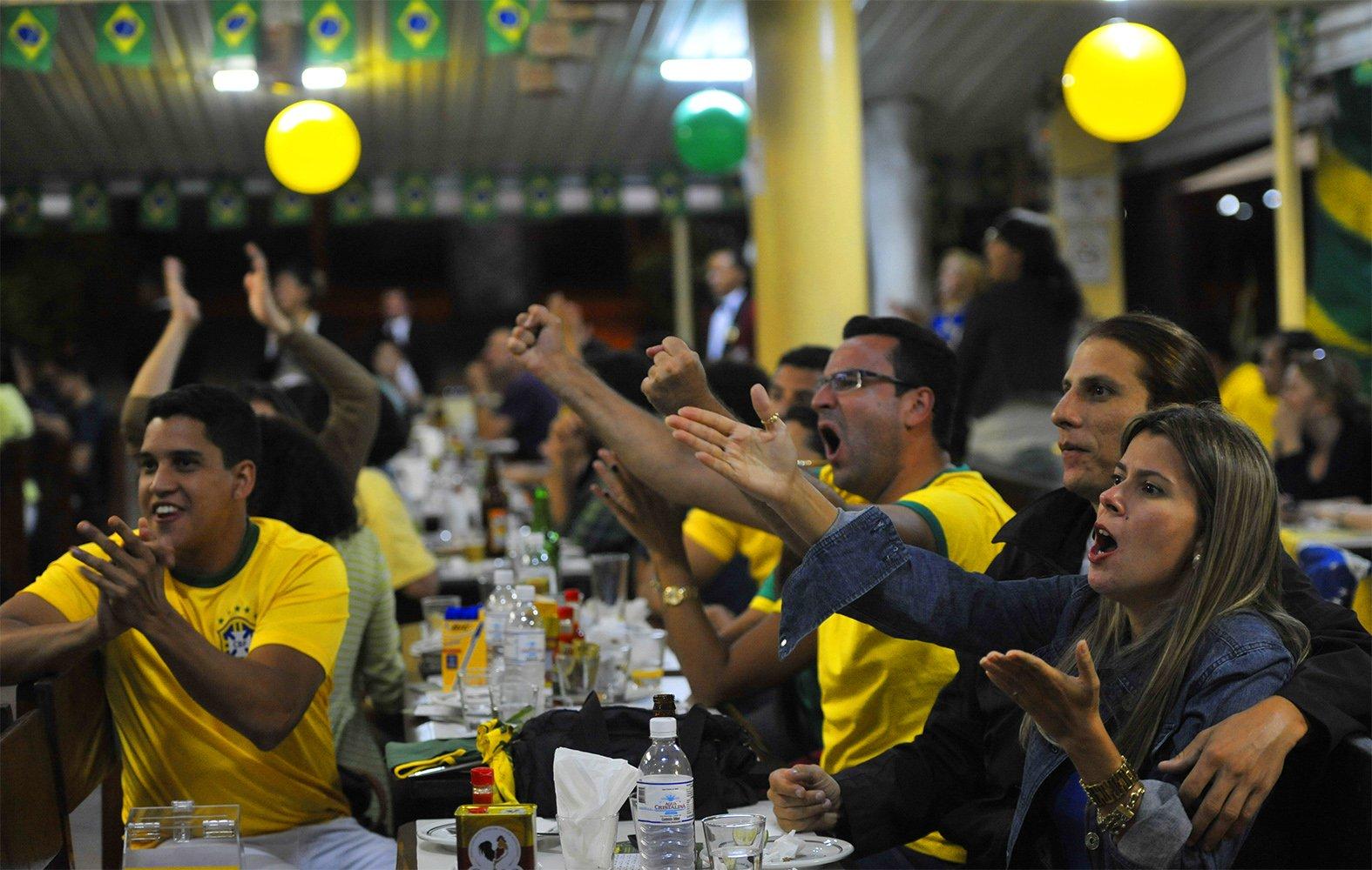 Bares para assistir aos jogos da Copa do Mundo em Goiânia | Foto: José Cruz/Agência Brasil