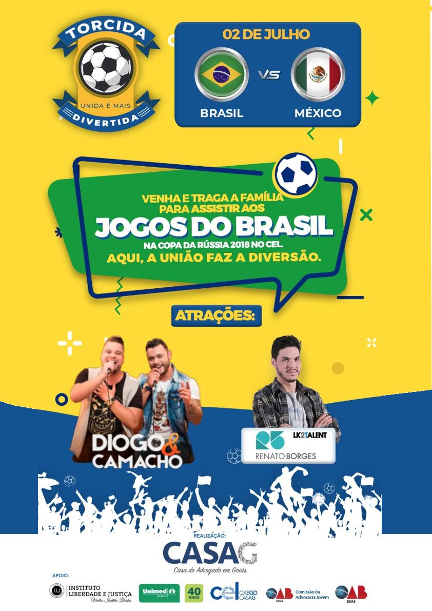 Copa do Mundo sem Imposto terá mais uma edição em Goiânia durante o jogo do Brasil contra o México | Foto: Divulgação