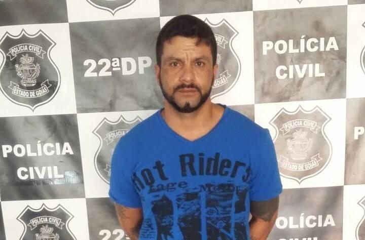 Maior traficante de droga e armas da Região Noroeste é preso em Goiânia. Ele é conhecido como o Cowboy do PCC | Foto: Divulgação/PC