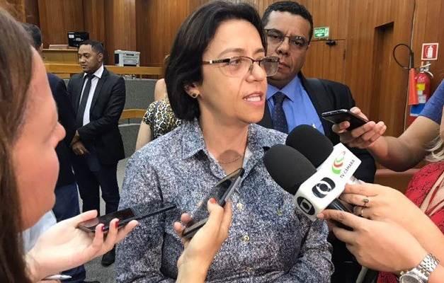 Titular da Secretaria de Saúde, Fátima Mrué anuncia vagas em Goiânia para médicos | Foto: Divulgação