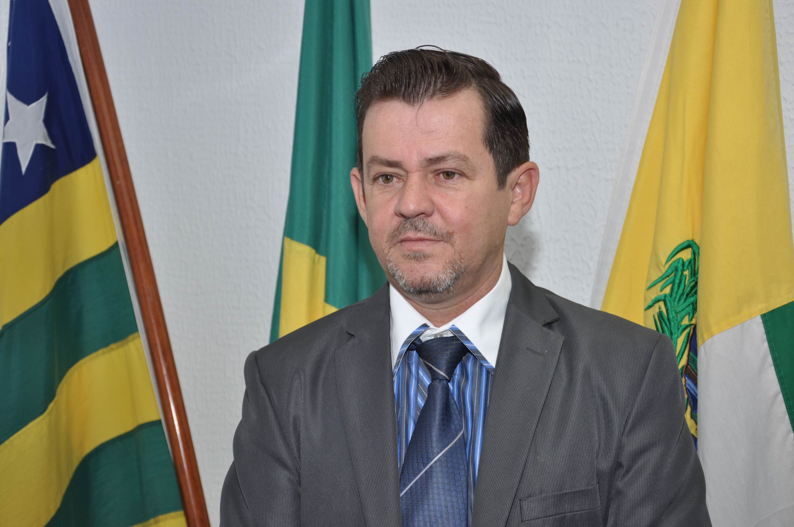 Vereador Gleison Flávio (MDB) | Foto: Câmara de Aparecida de Goiânia