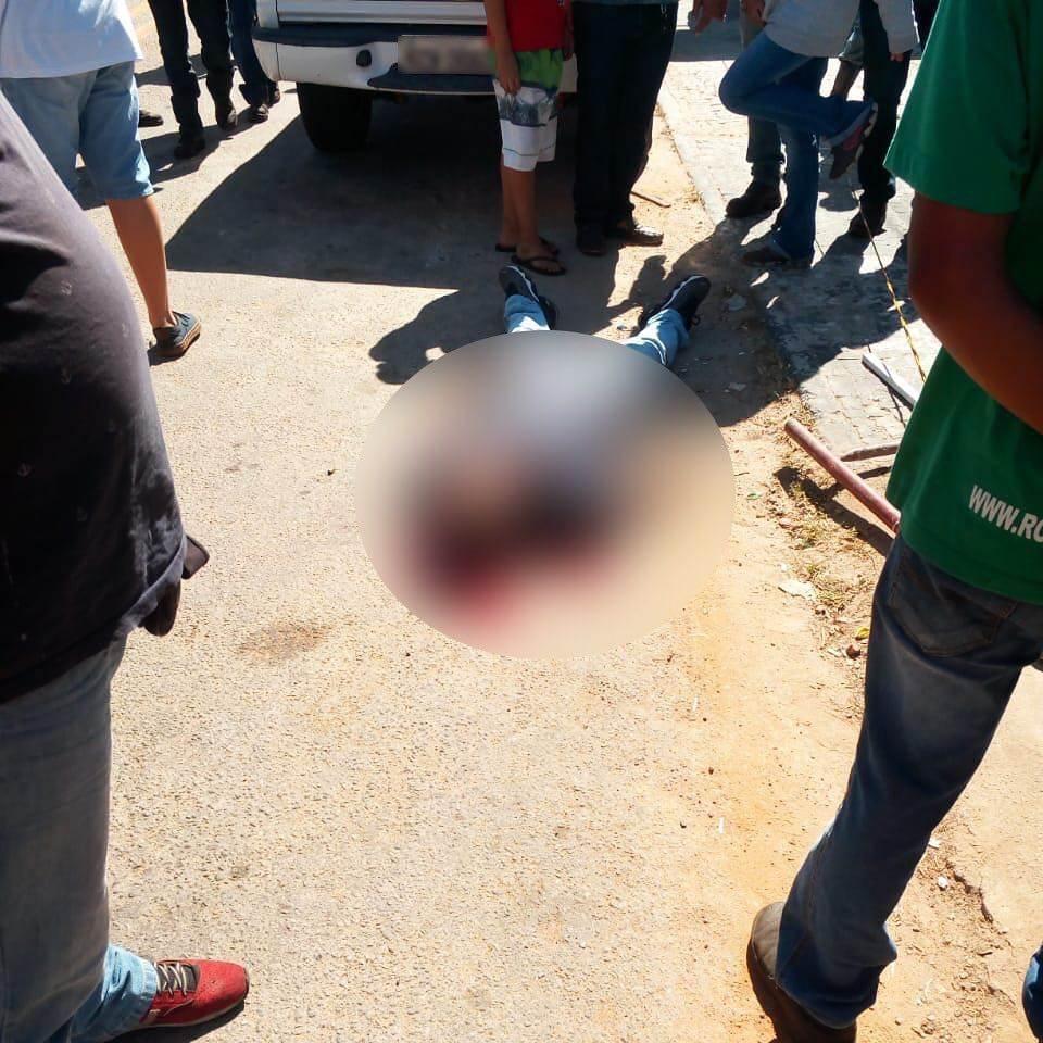 Dono de loja é morto a tiros na Vila Canaã na tarde desta segunda-feira, 18   Foto: Reprodução