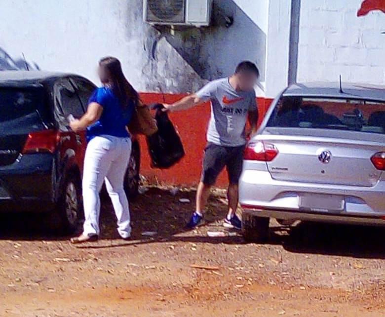 Criminoso atuava próximo à Faculdade Alfa, na Região Noroeste de Goiânia | Foto: Reprodução