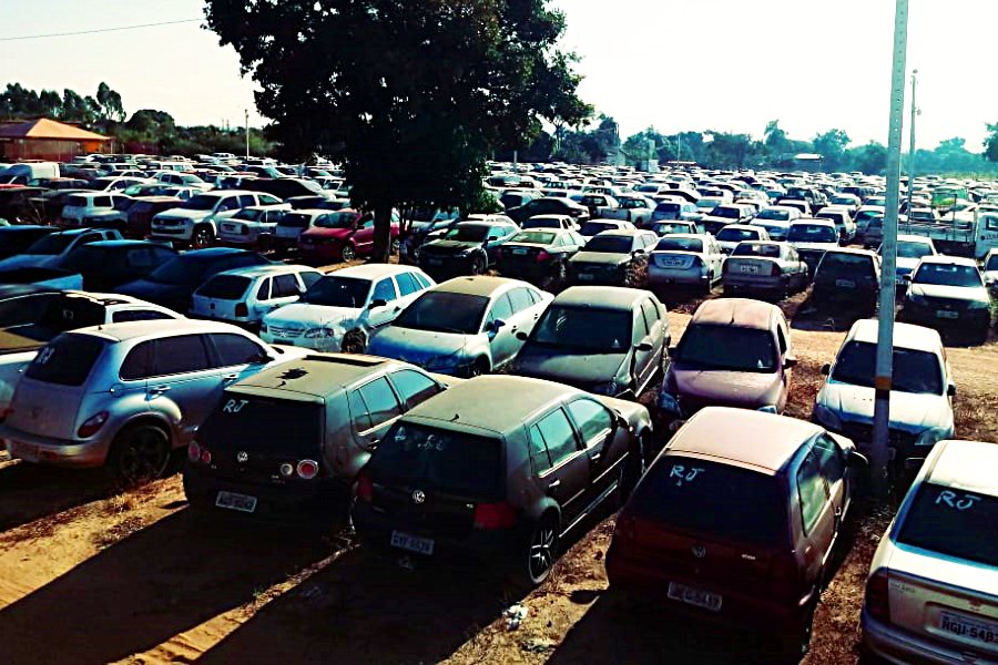 Cerca de 4.102 veículos automotores vão a leilão do Detran-GO realizado em Goiânia | Foto: Divulgação/Detran-GO