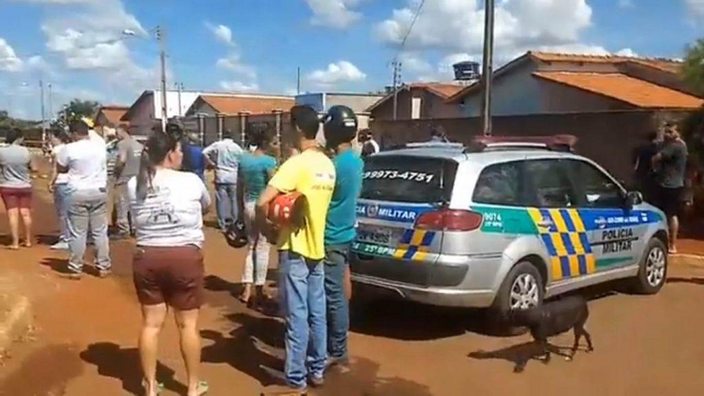 O tiroteiro em Palmeiras de Goiás vitimou quatro pessoas, ao menos um deles suspeito de praticar tráfico de drogas | Foto: Reprodução/ Facebook