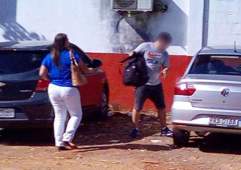 Segundo a PM, suspeito de praticar furtos a veículos na região noroeste mora em condomínio horizontal na cidade | Foto: Leitor/Whatsapp