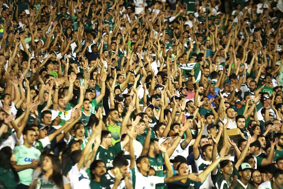 Mandante do seu próximo jogo, Goiás faz promoção de ingresso | Foto: Reprodução/Instagram