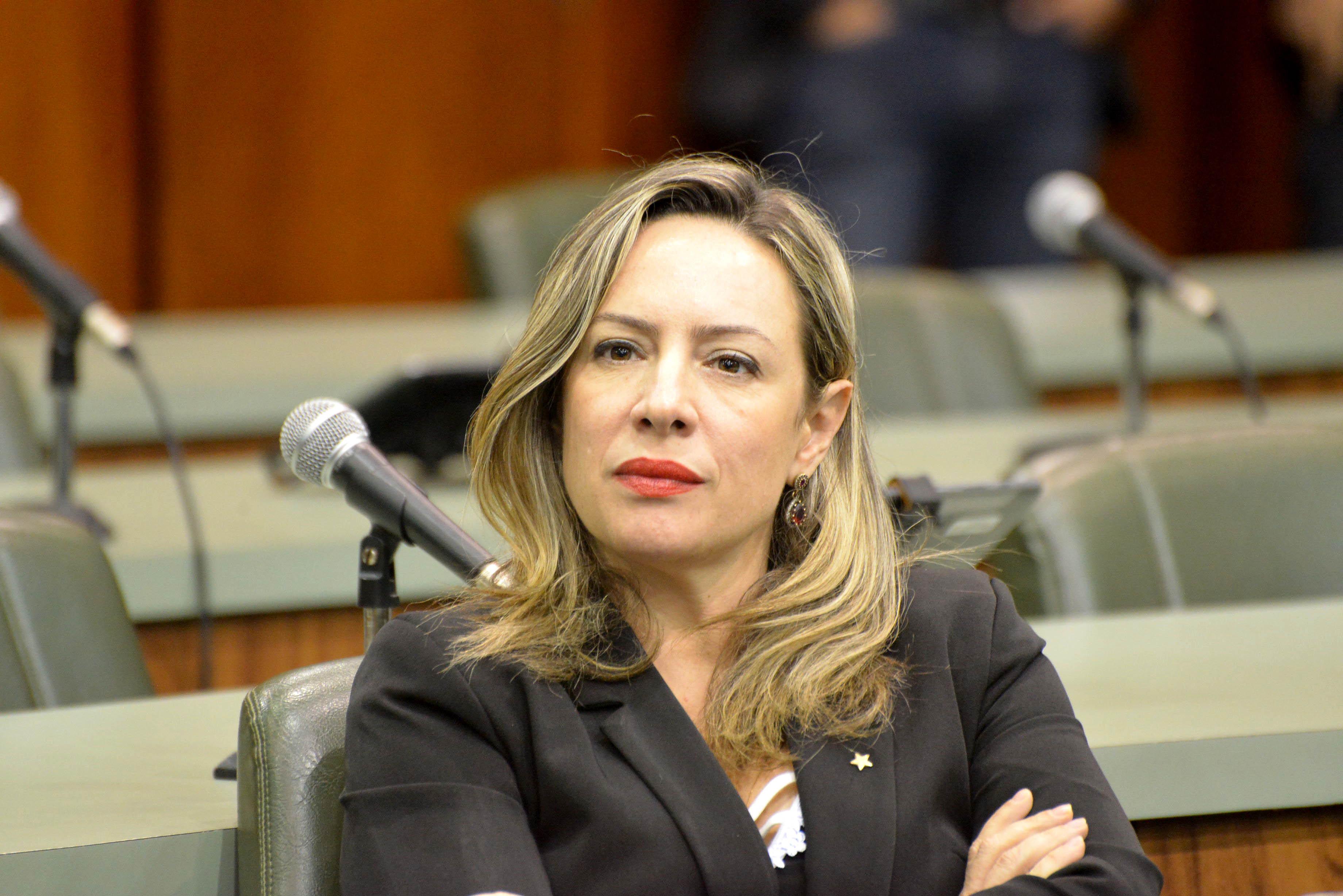 Delegada Adriana Accorsi (PT) | Foto: Y. Maeda