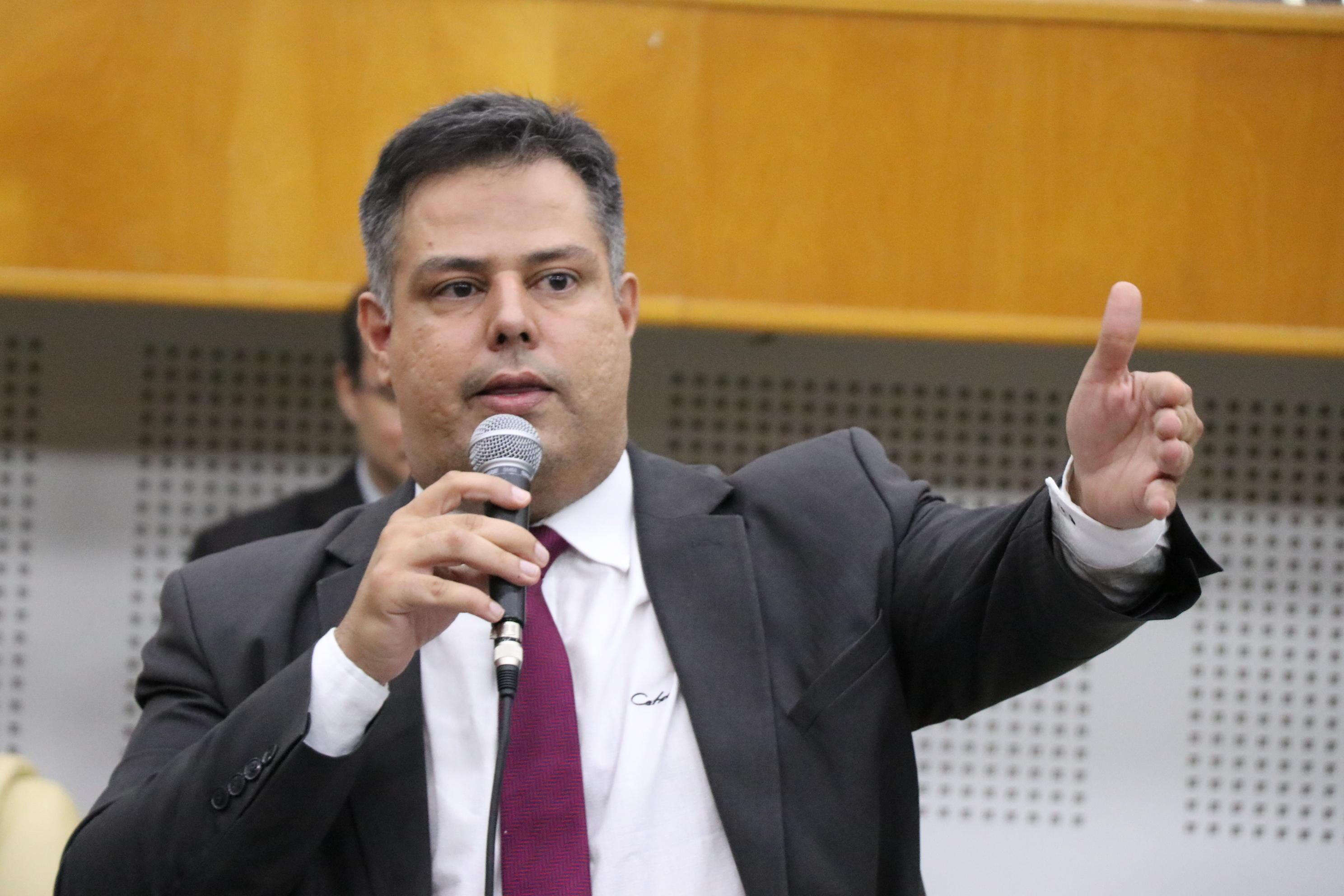 Delegado Eduardo Prado (PV) | Foto: Reprodução/ Câmara