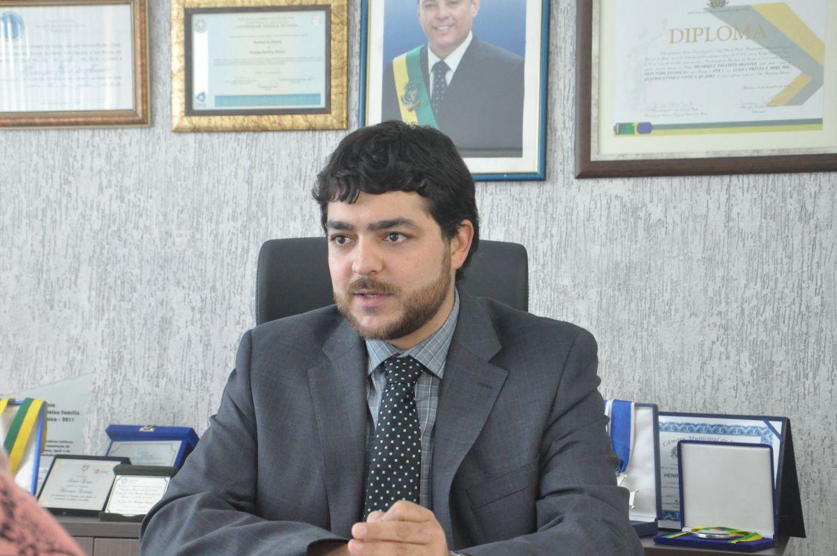 Deputado estadual Henrique Arantes | Foto: Reprodução